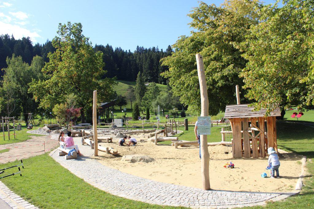 Erlebnis-Spieplatz im Kurpark